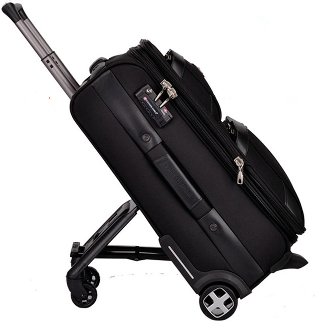84fe52a6eeb Swiss army knife trolley luggage travel bag code case male function box luggage  bags