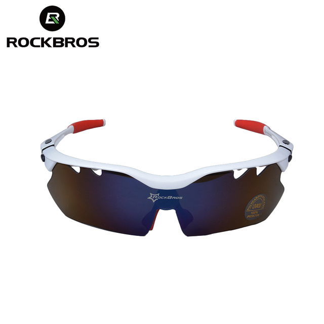 201f7f3b8ff 5 Lenses ROCKBROS Polarized Cycling Sunglasses Glasses Eyewear 100% UV  Blocking Glasses Goggles Hiking Outdoor Eyewear