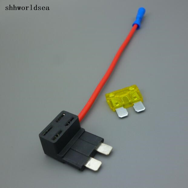Add-A-Circuit Fuse Piggy-Back Standard Blade Fuse Holder Ato Atc For Ford