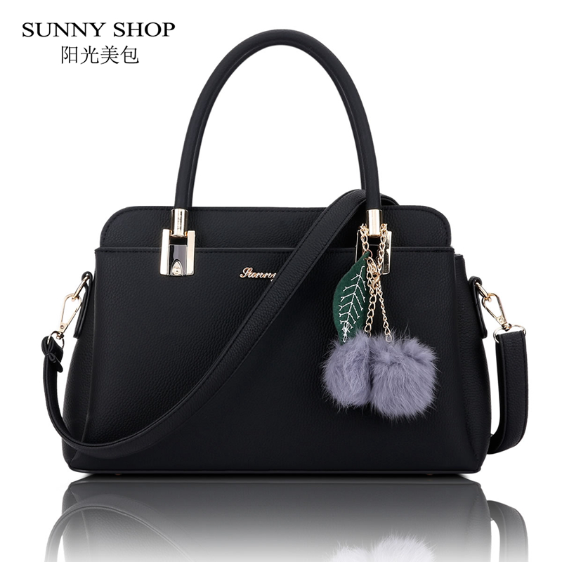 ФОТО SUNNY SHOP 2017 New Korean Women Messenger Bags Korean Women Bag High Quality PU Leather Shoulder Bags Gifts For Women