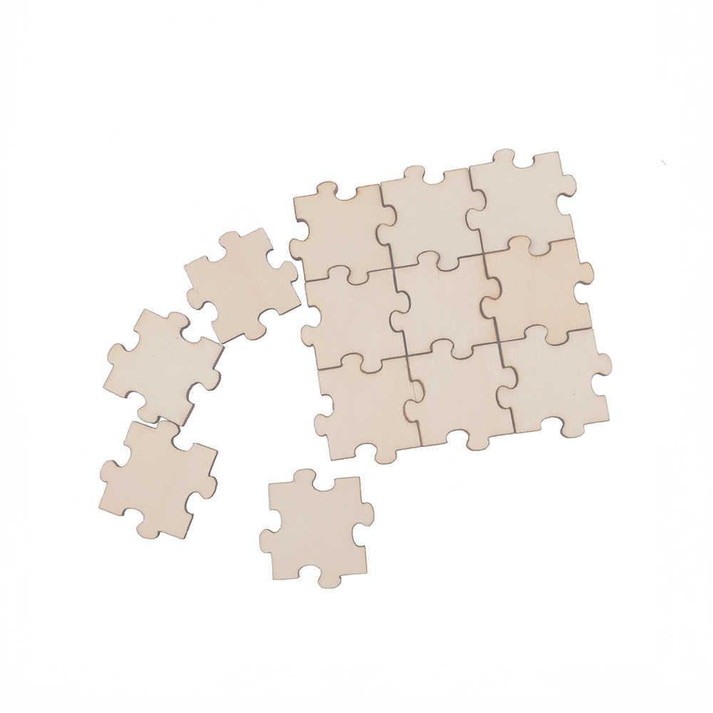 60 шт. 20 Вт, 30 Вт, 40 мм деревянный брелок Головоломка украшения НЕОБРАБОТАННАЯ древесина ворс древесины своими руками куски для свадьбы, декоративно-прикладного искусства, ремесленные товары, карточка для изготовления