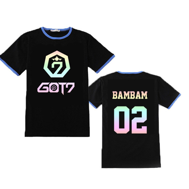 GOT7 Gradient Band Member T-Shirts