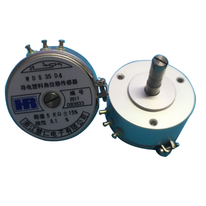 Original WDS35D4 Precision potentiometer Linear conductive plastic angular displacement sensor