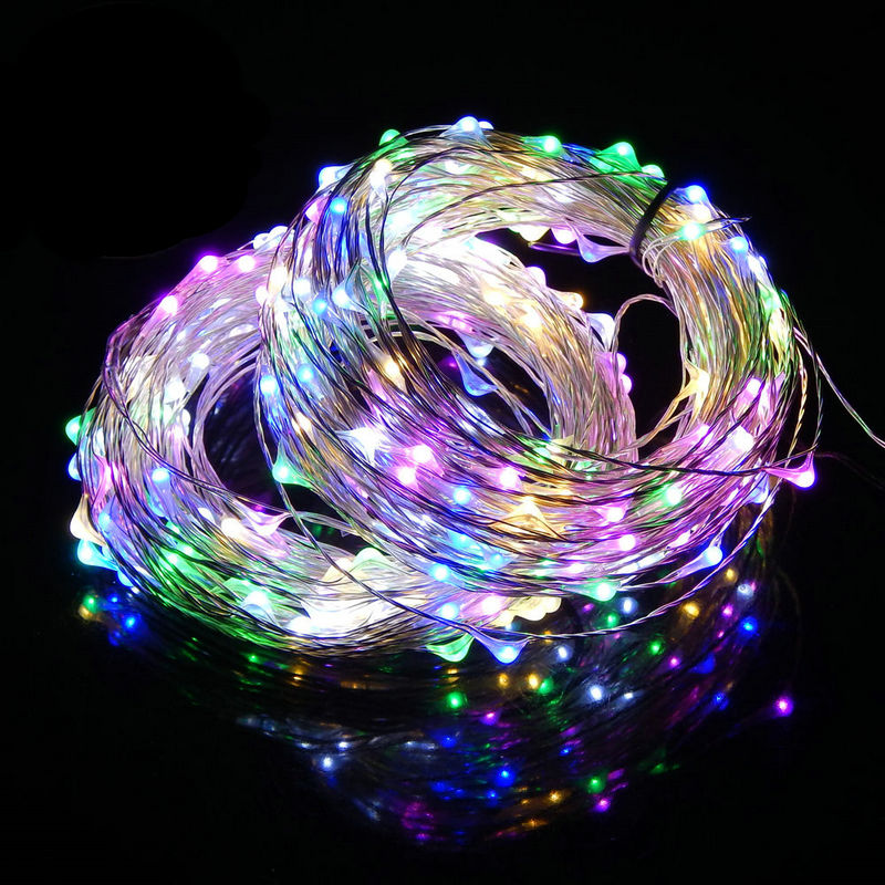 light wiring diagram promotion shop for promotional light wiring 5pcs 10m 100led battery powered led moon string fairy light vane lamp remote control thin wire xmas wedding vase garland decor