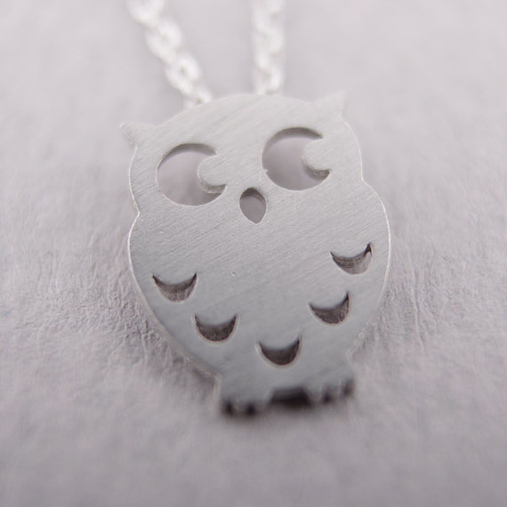 Daisies (10pcs/lot) Pendant Necklace Animal Necklace owl night owl crescent moon hoot hedwig birds gift wedding For Girl Women ...