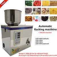 1 200g 220V Fulling Racking Machine Vibration Packing Machine Automatic Weighing Small Granular Pack Food Package
