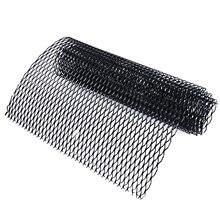 """Mayitr, черный, автомобильный стиль, решетка для кузова, сетка из алюминиевого сплава, решетка для гриля, раздел, универсальный для авто, украшение автомобиля 1"""" x 40"""""""