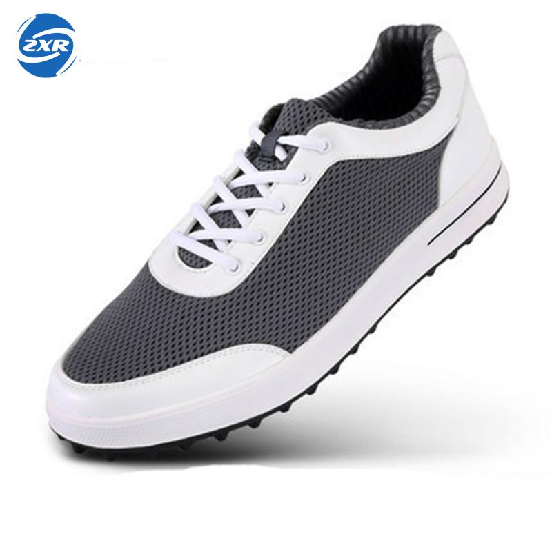2017 New Professional Lace-up Anti-skid Golf Shoes Men Super Lightweight Flexible Comfortable Breathable air mesh Sneakers new hot sale children shoes comfortable breathable sneakers for boys anti skid sport running shoes wear resistant free shipping