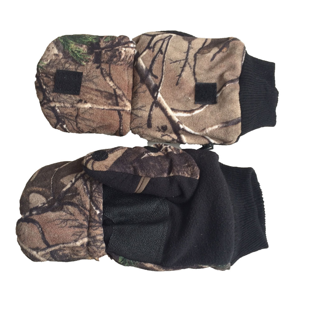 Online buy wholesale camo hunting gloves from china camo for Winter fishing gloves