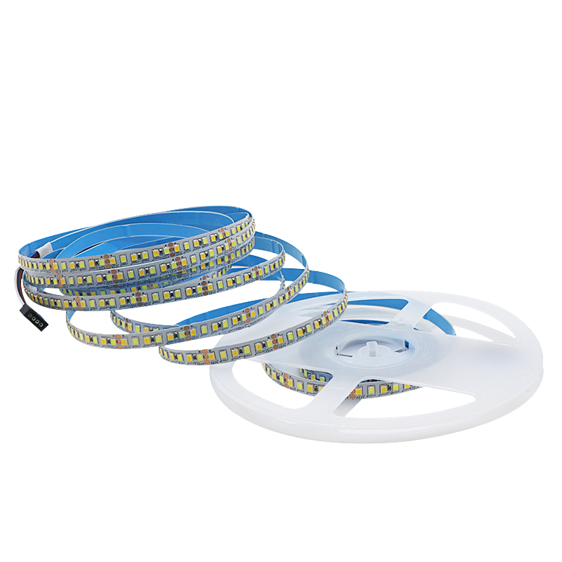 Image 2 - SZYOUMY SMD 2835 CW/WW Dual White Color Temperature Adjustable CCT 12V 24V Double Color LED Flexible Strip 180leds/m Tape LightLED Strips   -