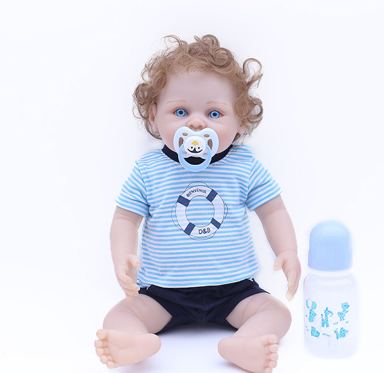 45cm Baby Alive boy Doll Full Silicone Bebe Reborn Wholesale Lifelike Baby  toys can wash For Girls Kid Best  Xmas Gift bonecas45cm Baby Alive boy Doll Full Silicone Bebe Reborn Wholesale Lifelike Baby  toys can wash For Girls Kid Best  Xmas Gift bonecas