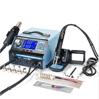 YIHUA 992DA 4 In 1 Hot Air Rework Soldering Iron Station Smoke Vacuum BGA Soldering Rework
