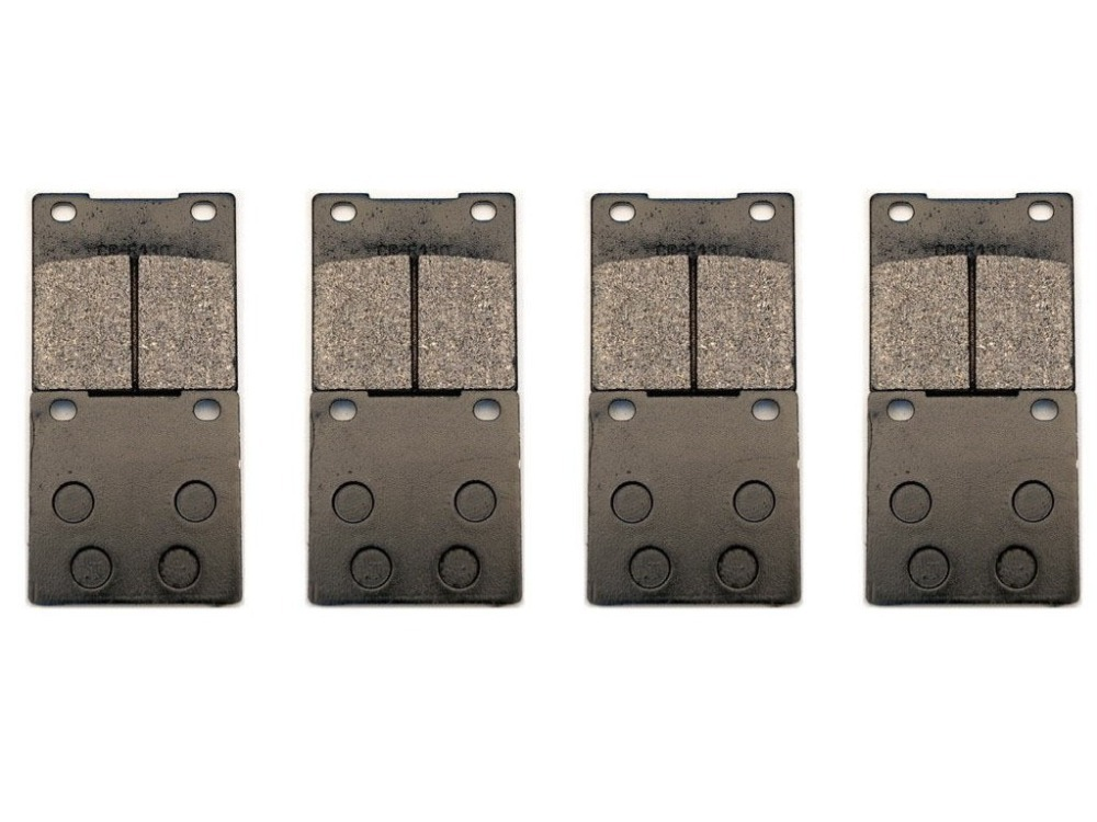 8 Pcs BRAKE PADS Case for SUZUKI GV1400 VS1400 INTRUDER <font><b>VL1500</b></font> image