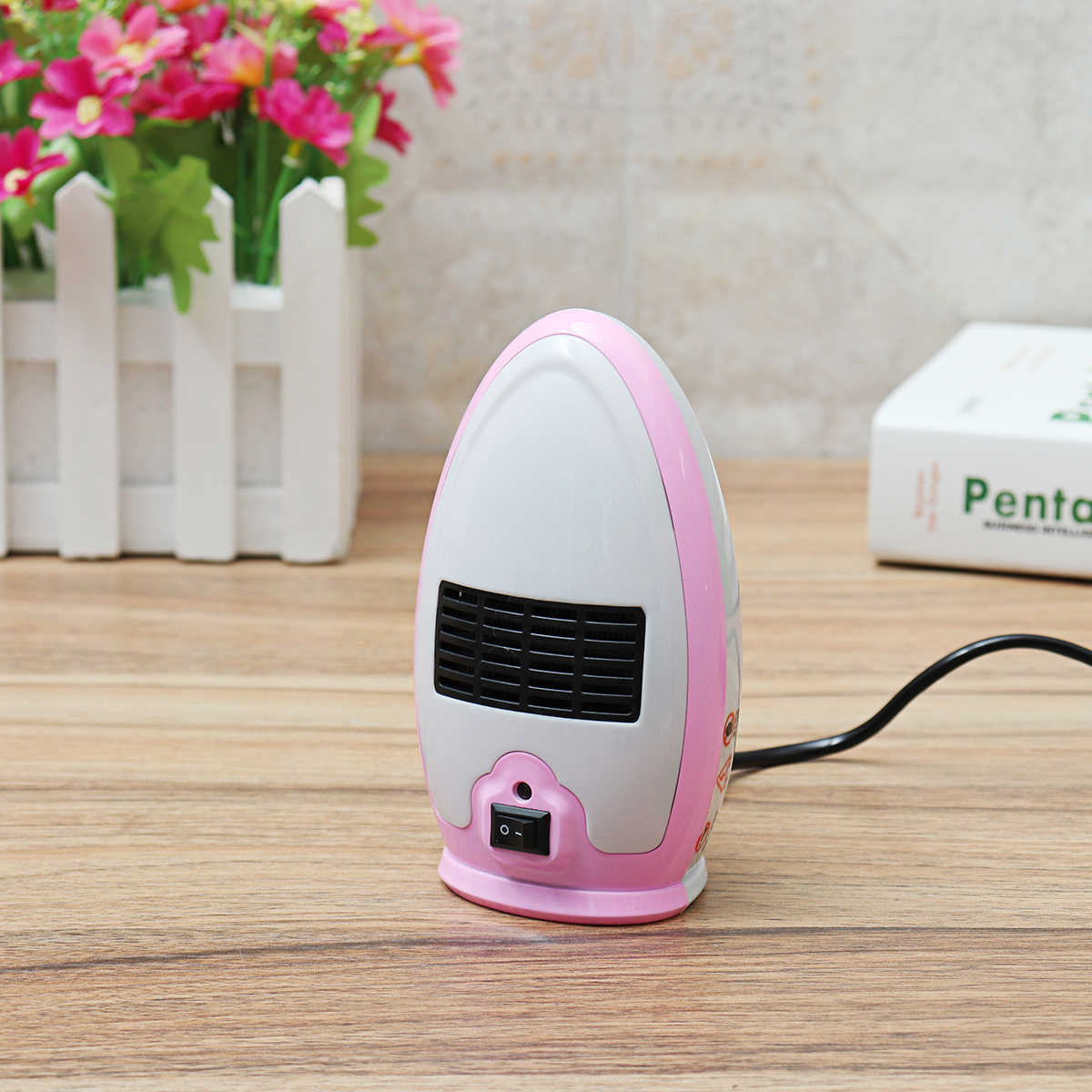 small resolution of  200w 220v electric heater mini electric warm air heater fan stove for desktop household home office