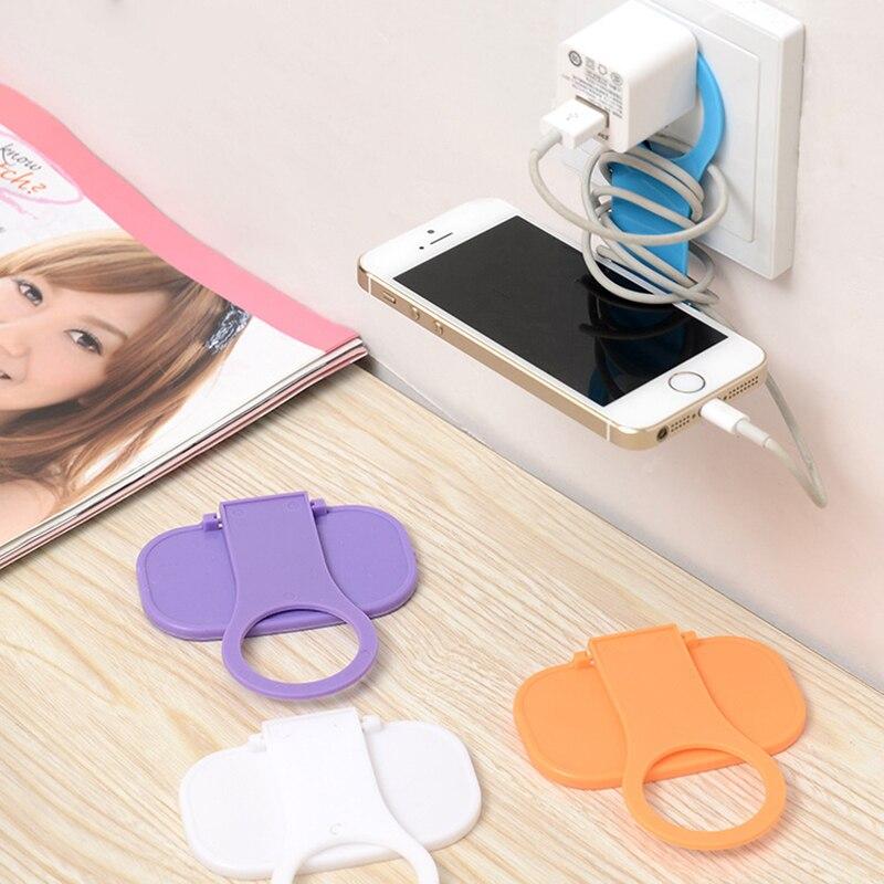 Fällbar mobiltelefon laddningshållare för iPhone 7 Praktisk - Reservdelar och tillbehör för mobiltelefoner - Foto 4