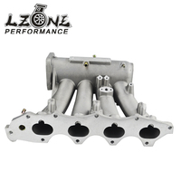 LZONE RACING FOR B18C Aluminum Cast Intake Manifold Upgrade Bolt On JR IM42CA
