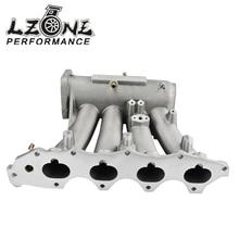 LZONE RACING – FOR 99-00 Honda Civic 92-01 Acura Integra Aluminum Cast Intake Manifold Upgrade Bolt On JR-IM42CA