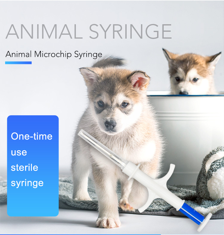 Needle Dog Implant For Aquaculture Arowana Injector Syringe Microchip Pet-Chip Pit-Tag