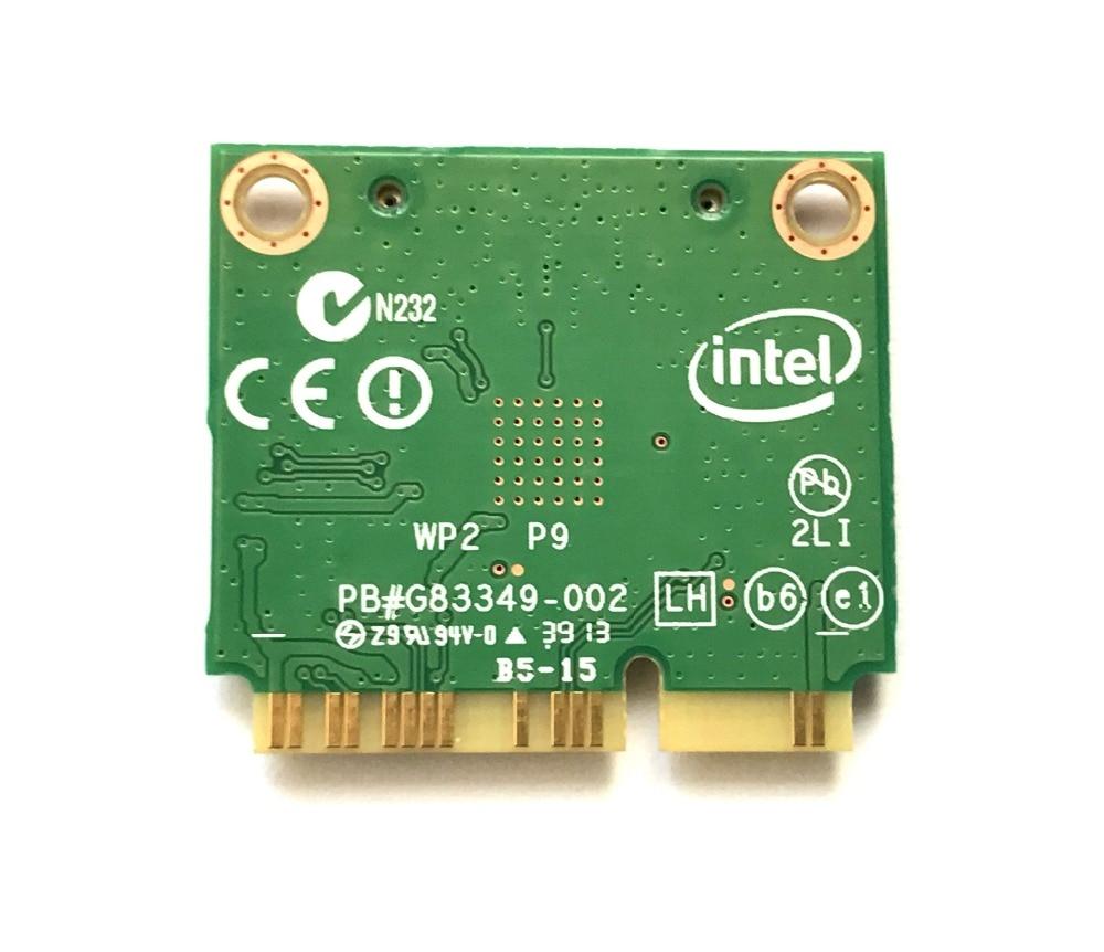 Купить с кэшбэком Intel 7260AC 7260HMW 7260AC 802.11ac MINI PCI-E 2.4G/5G Dual Band  WiFi Card  Bluetooth 4.0 For THINKPAD S1 S440 S540 E440 E540
