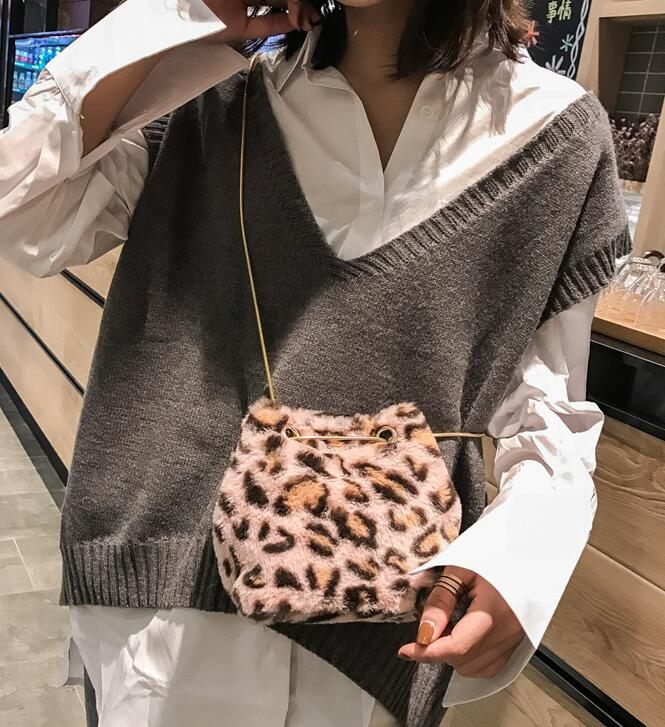 Bolsas Feminina Small Women Leather Bucket Bag Handbag Tassel Drawstring Shoulder Bag Messenger Crossbody Bags Purses
