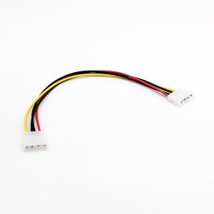 Image 4 - 20x4 핀 lp4 molex male 4 핀 male 플러그 전원 연장 어댑터 커넥터 케이블 30 cm/1ft