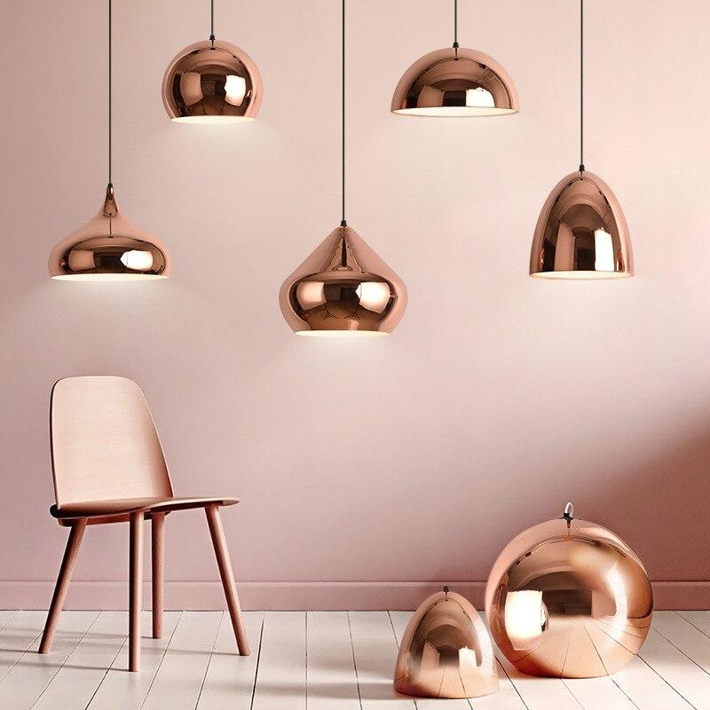 Lampe pendentif LED moderne abat-jour en métal pour salle à manger café Restaurant luminaire suspendu nordique