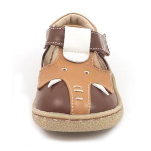 Image 2 - Tipsietoes Barefoot Kinderen Mary Jane Kinderschoenen Jongens Olifant Sneaker Fashion Sport Kind Causale Echt Lederen