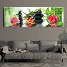 Prints Art Wall Canvas Painting Modern Abstract flower Posters Pictures Living Room Decoration