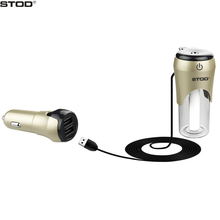 BOTD 2In1 Dual USB Car Charger 3 1A With Air Humidifier Purifier Quick Drivce For iPhone