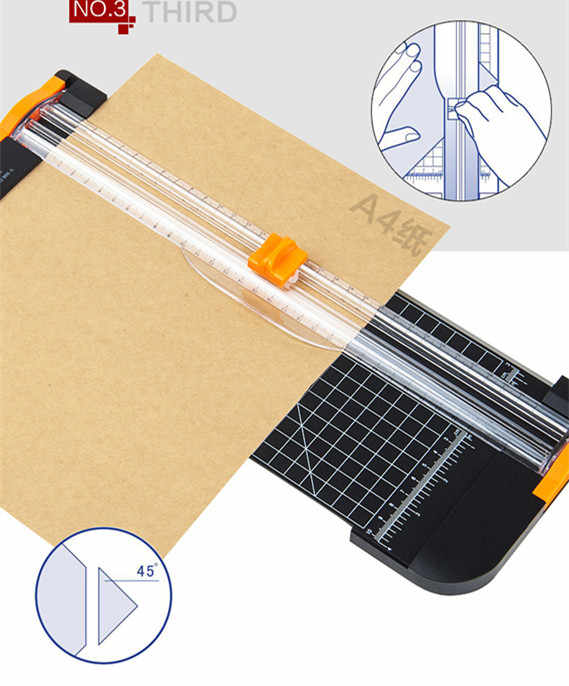 Portable Paper Cutter : portable, paper, cutter, Portable, Paper, Trimmer, Cutters, Guillotine, Ruler, Trimmers, Photo, Cutting, Spare, Knife|Paper, Trimmer|, AliExpress
