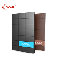 SSK SHE080 USB 3.0 HDD Enclosure 2.5 Inch SATA HDD TRƯỜNG HỢP Cổng nối tiếp Hộp Đĩa Cứng Bên Ngoài Ổ Cứng HDD Đen Enclosure box