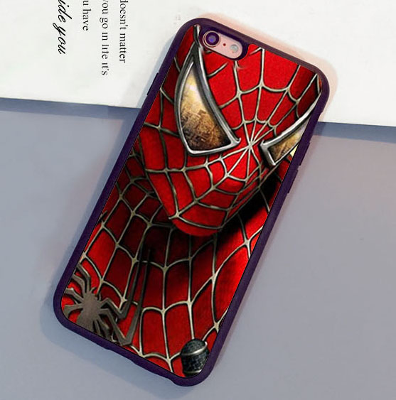 Cool <font><b>spiderman</b></font> <font><b>Super</b></font> <font><b>Hero</b></font> Printed Soft Rubber Mobile Phone <font><b>Cases</b></font> <font><b>For</b></font> <font><b>iPhone</b></font> <font><b>6</b></font> 6S <font><b>Plus</b></font> 7 7 <font><b>Plus</b></font> 5 5S 5C SE 4S Cover Shell