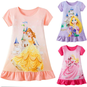 Cute Baby Girls Dress Princess Dresses Sleeveless Summer Casual Dress for Girl Clothes(China)