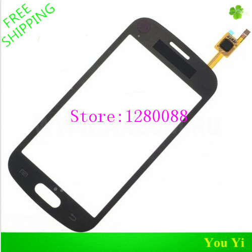 Free Shipping 5PCS/LOT 100%Original For Samsung Galaxy Trend Lite GT-S7390 S7392 Touch Screen Digitizer S7390 - Black
