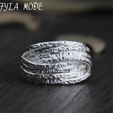 999 Silver Customized Layer Ring For Men Solid Personalized Fashion Jewelry Rings