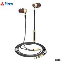PIZEN WK50 Hybrid In Ear Earphone Driver BA mmcx cable for shure port Earbuds Double Unit earphones pk maigaosi bk50 pz zs10 qkz