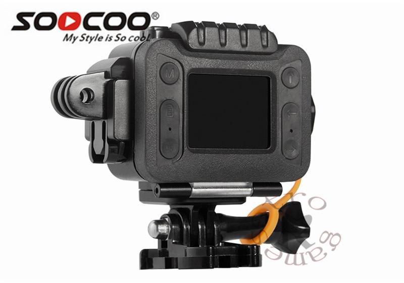Caméra étanche à l'eau mini Action intégrée WIFI sport DV caméra sport vidéo Starlight Vision nocturne prise en charge micro externe SOOCOO S80