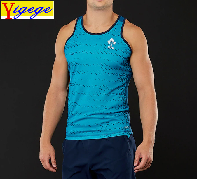 Weekend Forecast Rugby Rugby Vest Funny Novelty Singlet Jersey Top