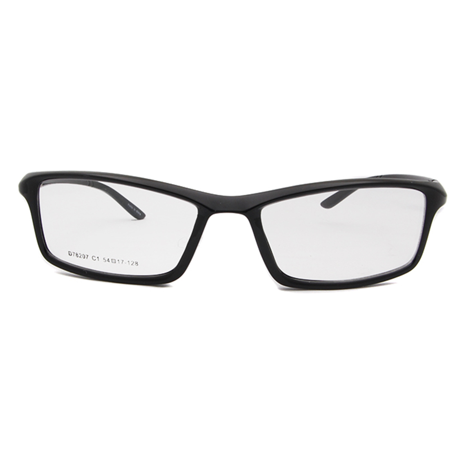 ESNBIE New TR90 Plastic Flexible Clear Lens Glasses Frame Men 6 Base ...