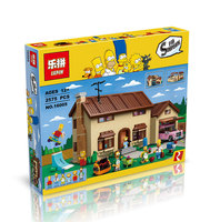 2017 Hot New LEPIN 16005 2575Pcs The Simpsons House Model Building Block Bricks Compatible 71006 Boy