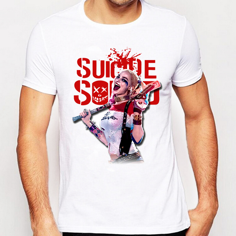 Suicide Squad T Shirt Harley Quinn T Shirt Joker Cool