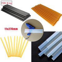 11x270mm Hot Melt Glue Sticks for car dent repair tool only for PDR work high viscosity Silicone rod of paintless dent remove