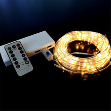 10M RGB LED Strip USB String lights Indoor Outdoor Street Garland Remote Control 8 Changing Modes Garden Decors DIY Fairy Lights