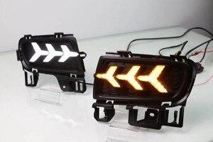 1 комплект светодиодный дневный ходовой светильник DRL, Дневной светильник, автомобильные аксессуары, сигнальная лампа поворота для Mazda 6 Mazda6 ...