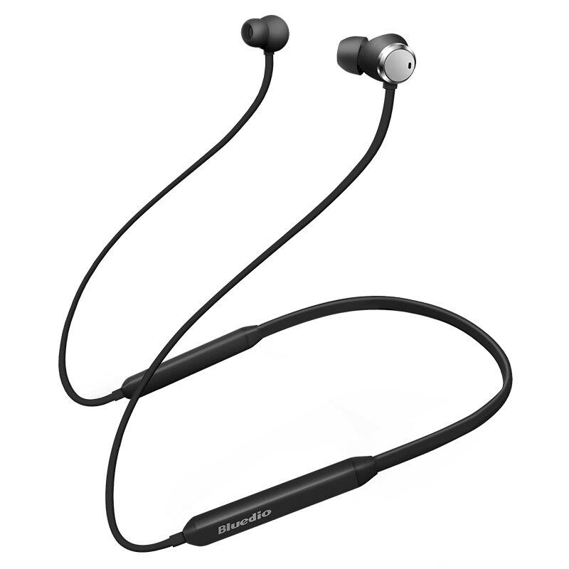 2018 New Bluedio TN Neckband auricolare Active Noise Cancelling auricolare bluetooth di sport della cuffia