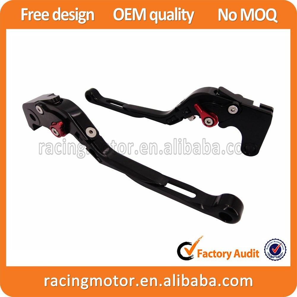 CNC Adjustable Folding Extendable Brake Clutch Levers For BMW R1200GS 2004-2012 adjustable long folding clutch brake levers for bmw r 1200 gs adventure r12w 14 15 16 2014 2015 2016 r1200r rs 13 2013