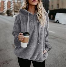 Женский Теплый свитер с капюшоном толстые пуловеры женская верхняя