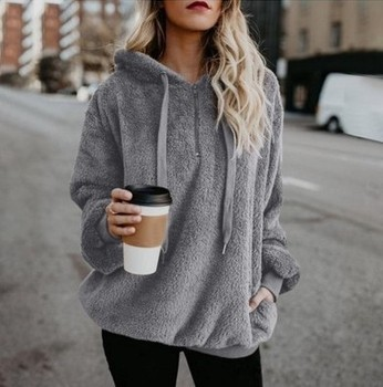 2020 Warm Hooded Sweater Women Thick Pullovers Women Outerwear Long Sleeve  Womens Sweater Oversized Jumpers Women Pull Femme women oversized sweater and pullovers oneck sweet heart letters printed pull jumpers long sleeve pink streetwear knit tops