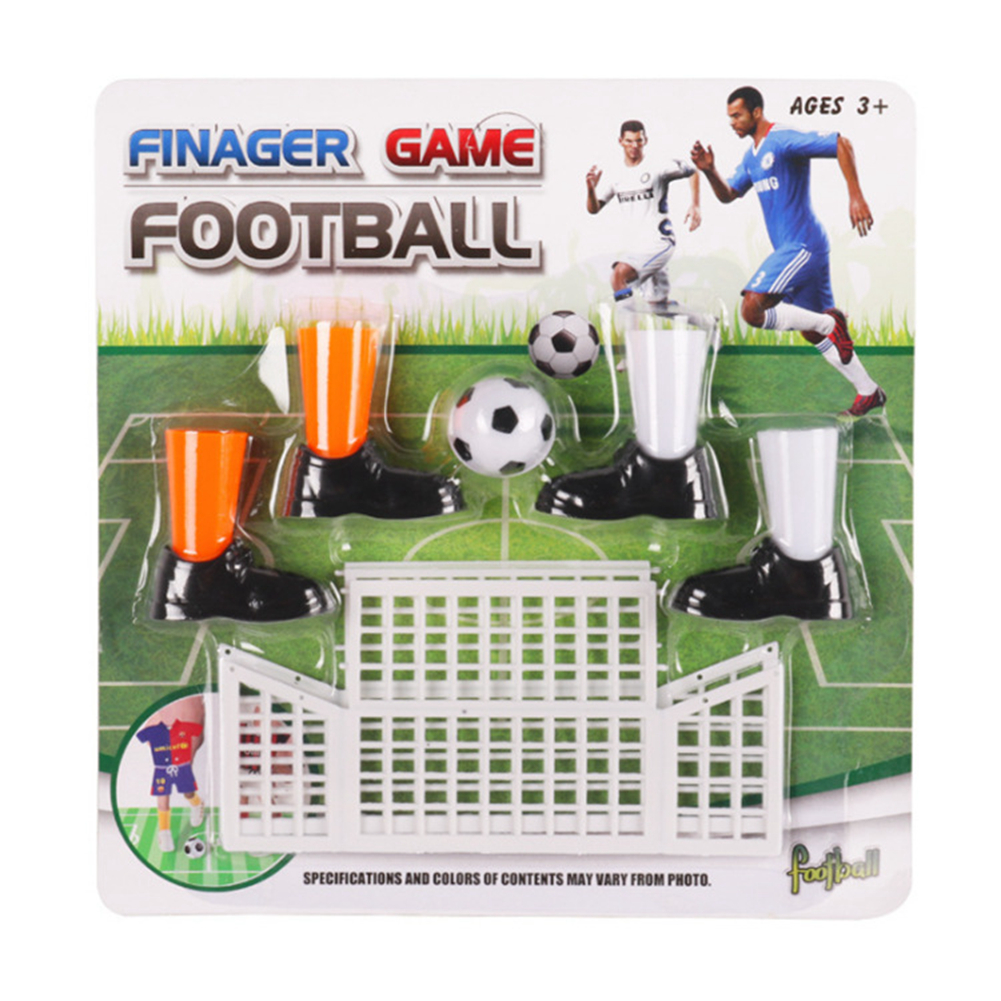 Parent Family Kids Football  Ball Sport Interact Table Game Goals Funny Mini Party Finger Soccer Toy Set Gadgets