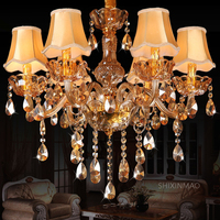 SHIXNIMAO free shipping Deluxe Crystal Chandelier Fashion crystal chandelier light Crystal